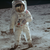 The bag used by Buzz Aldrin to carry religious items to the moon surfaces