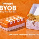 Popeyes customers slam new BYOB campaign: 'Fire whoever came up with this idea'