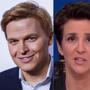 MSNBC's Maddow celebrates NYT reporters who exposed Weinstein scandal, ignores how NBC spiked same story