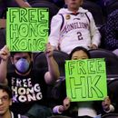 Pro-Hong Kong NBA fan booted from Philadelphia 76ers preseason game against Chinese team