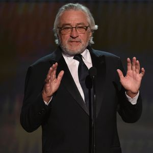 Robert De Niro rants at SAG Awards about using his celebrity to fight against 'blatant abuse of power'