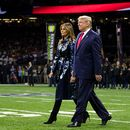 President Trump, Melania Trump cheered by crowd at LSU-Clemson national championship game
