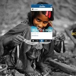 Тези изрезки от снимки, качени в Инстаграм показват колко различна е снимката в действителност