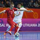 Poraz futsalera Srbije od Irana na startu Svetskog prvenstva