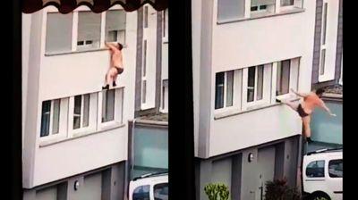 Швалер се обидел да избега гол низ прозорец – Но бегството не заврши добро