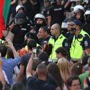 Прибират част от полицаите от протеста