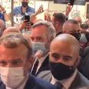 СО ЈАЈЦА ПО МАКРОН – Францускиот претседател доживеа нова незгода (ВИДЕО)
