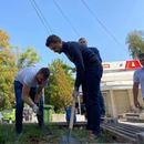 Тимчо во Аеродром засади 7 дрвца, за број 7 и 7 клучни проекти