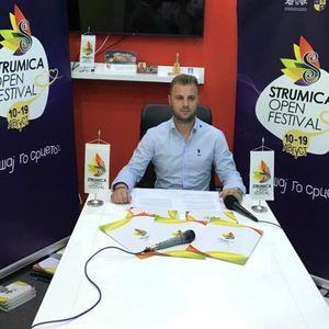 Интервју на Струмица Денес со Томи Печков: да ДОЗНАЕМЕ нешто повеќе за организацијата на Опен Фест!