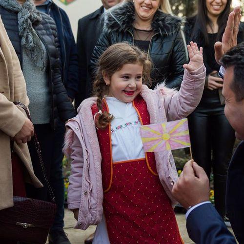 Зоран Заев ПРИСУСТВУВАШЕ На отворањето На новата градинка во Муртино!