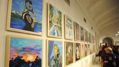 """Otvorena izložba """"Mileni u čast"""" u Ruskom domu"""