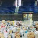 """Iz """"Štark arene"""" poslato 12.800 paketa za penzionere"""