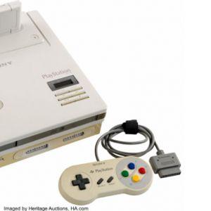 Nintendo PlayStation прототип конзолата е на аукција