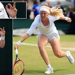Тенисистка с няколко липсващи пръста ще участва на Уимбълдън