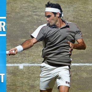 Най-доброто от Федерер по пътя към титлата в Хале