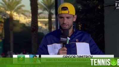 Григор пред Tennis Channel: Тази победа стига отвъд тениса и значи всичко за мен