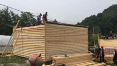 U Srebrenici u toku izgradnja 34 montažne kuće za povratnike