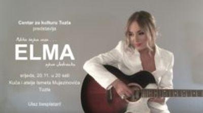 Najava koncerta 'Elma pjeva Jadranku' u Kući i ateljeu  Ismet Mujezinović Tuzla