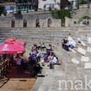 Министрите Рот и Димитров пред празен Антички театар зборуваа за референдумот