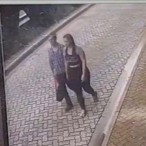Неверојатни рефлекси: Маж во последен момент ѝ го спасил животот на својата девојка