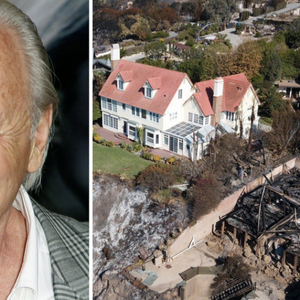 Пожарот го уништил целото соседство, а домот на познатиот актер останал недопрен