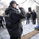 Во Радовиш откриен споменик за загинатите бранители во конфликтот во 2001