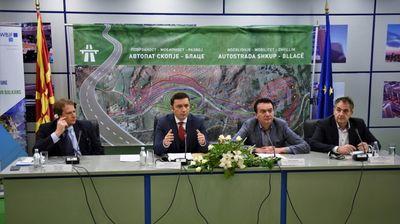 Почнува проектот за изградбата на автопатот Скопје – Блаце, се очекува да заврши за три години