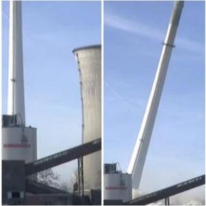 Погледнете како германската електрана беше срамнета со земја: Ова е моќта на 250 килограми експлозив