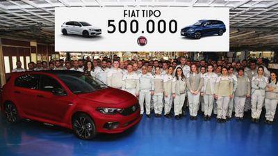 Произведен 500.000-тиот Fiat Tipo
