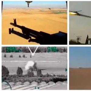 Се појавија видеа на хеликоптерските единици: Погледнете како Русите ги уништуваат терористите во Сирија