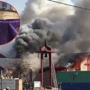 """Чудо во САД: Пожар двапати """"проголтал"""" цркви - само Библијата стара 150 години останала недопрена!"""