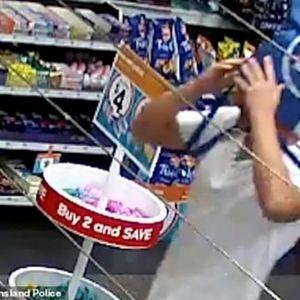 Крадец со ќеса на главата ограбил бензинска станица, па направил глупав потег кој го разоткрил