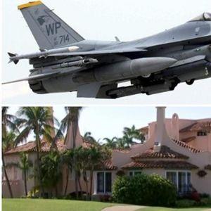 Драма на Флорида: Сомнителен авион летал кон вилата на Трамп - веднаш полетале борбени авиони