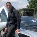 """Роналдо се пофалил со """"ѕвер"""" од милион долари: Обожавателите полуделе штом седнал во најбесниот автомобил на светот"""