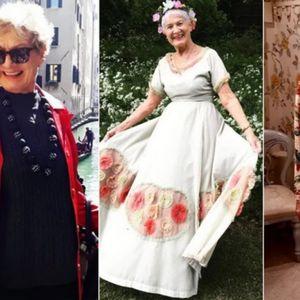 """""""Кул баба"""": Од малечка сонувала да стане модел, а нејзиниот сон ѝ се остварил кога наполнила 80 години"""