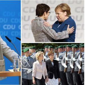 Прво ја наследи Меркел на чело на партијата, а сега стана министерка за одбрана! Анегрет сакала да биде наставничка, па заглавила во политиката! Сака рок, има три деца, а еве што прави за викенди