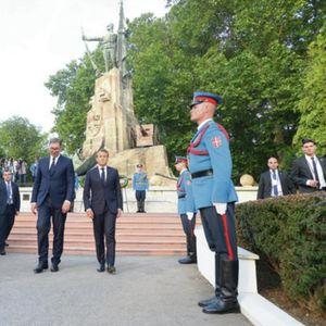 Неверојатни фотографии од Србија го обиколија светот: Денес сите гледаат во овие детали кои се објавени на официјалниот Инстаграм профил на францускиот претседател Макрон