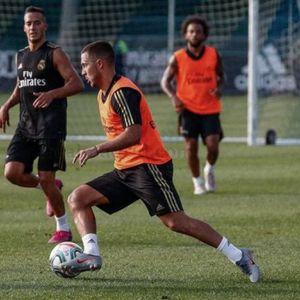 Белгиецот нема милост кон новите соиграчи: Најдобрите потези на Азар од првите тренинзи во Реал