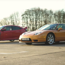 Иднината против класиката: Civic Type R vs. NSX