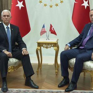 Нивните лица кажуваат сè: Погодете дали Американците успеале да го омекнат Ердоган