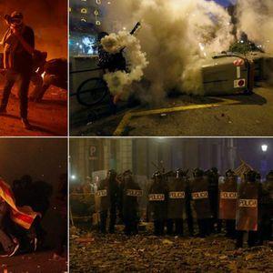 Барселона како Багдад, улиците гореа во текот на ноќта: Ова е пекол, го гледам мојот град и плачам...