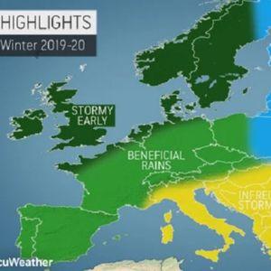 Каква зима ја очекува Европа?: На исток огромен студ и многу снег, на северот – бури, а еве што го чека Балканот