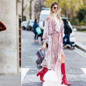 20 креативни предлози како да ги носите кадифените фустани оваа сезона