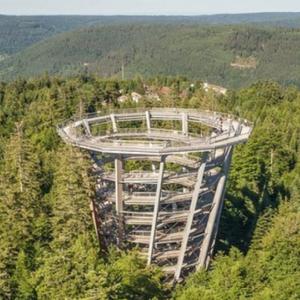 Спиралната кула во шума: Најдобриот поглед на природата околу Копенхаген