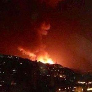 Голем ноќен израелски напад на Сирија: Разнесовме воени бази, против-воздушна одбрана, магацини...