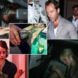 Урнебесни фотографии кои познатите би сакале да исчезнат: Како изгледаат тие кога ќе се напијат малку повеќе алкохол?