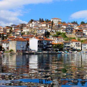 Заштитен знак на Охрид: Ги краселе кралицата Елизабета и принцезата Дајана