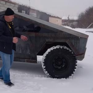 Погледнете како Русите претворија стар UAZ во Tesla Cybertruck