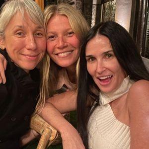 Забава без шминка на Гвинет Палтроу со девојката на Кијану Ривс, Кејт Хадсон, Деми Мур...