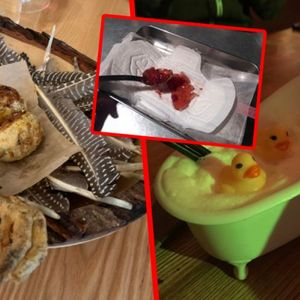 Предјадење од раце, коктел со пајчиња, сланина на скејтборд...: Бизарни начини на кои рестораните ги послужуваат своите јадења
